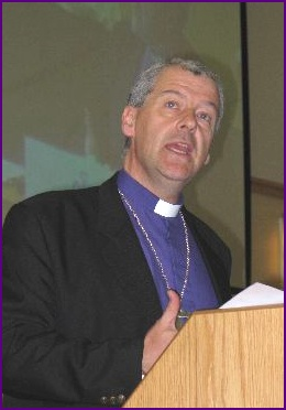 Bishop Michael Jackson addresses the Synod